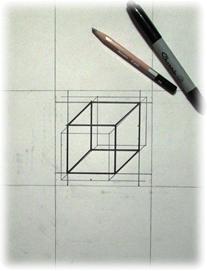 4x4 inch Cube