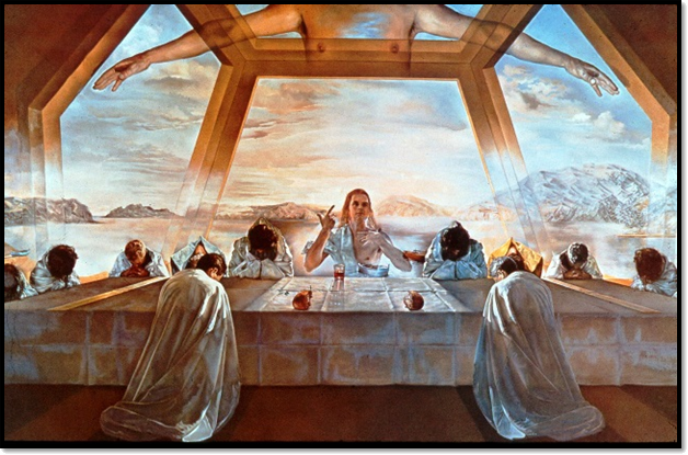 The Sacrament of the Last Supper (1955)