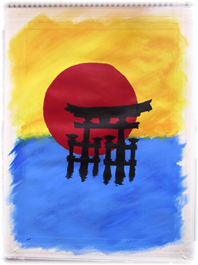 Torii Painted