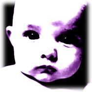 Violet Mask