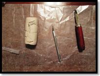 X-acto Knife & Linoleum Cutter