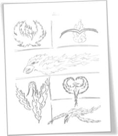 Phoenix Sketches